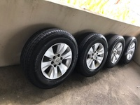 Toyota Hilux Rims And Tires