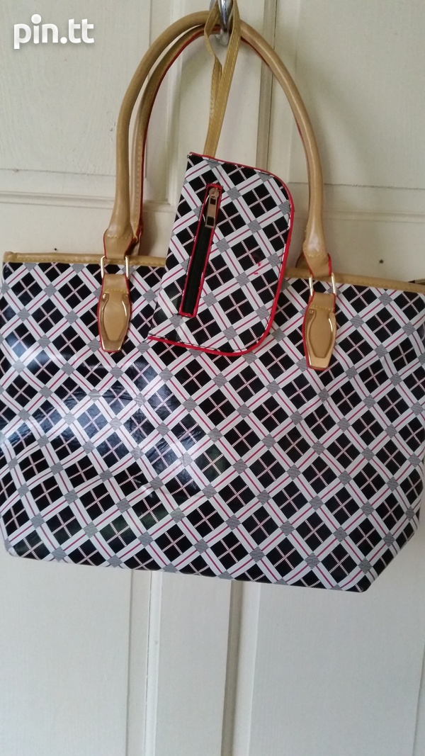 New Tote Bag with Change Purse