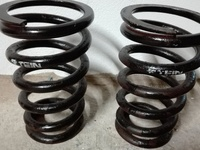 ES civic rear drop springs