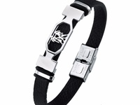 2019 Fashion Charm Constellations Gemini Leather Wristband