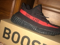 Yeezy V2 Red And Black