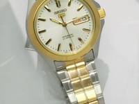 Watch seiko 5 automatic two tones