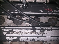 HONDA B18b stock engine with, manual brain, shifter, pedals, mounts.