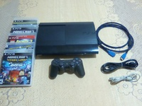 PS3 plus 5 games and accessories