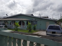 Three Bedroom Flat house on Two lots with Annex, Cunupia