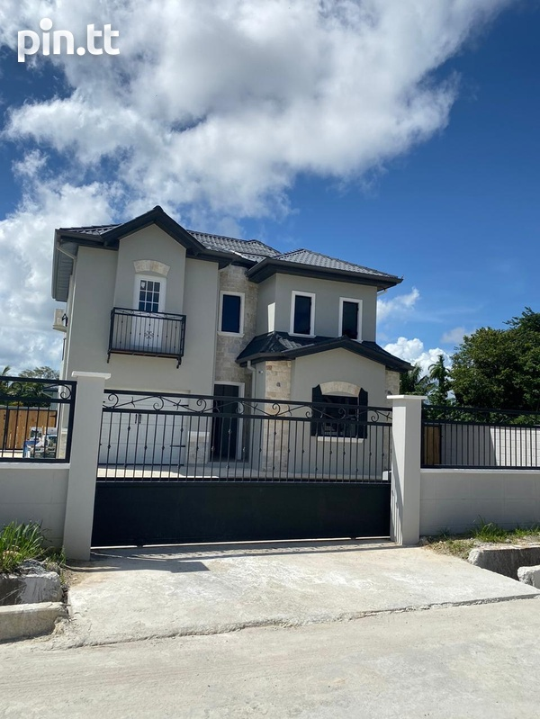 New Sangre Grande 4 bedroom house-1