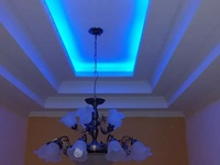 Gypsum and pvc ceilings