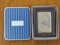 Fossil Wallet With Money Clip