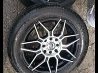 15inch rims and tyres