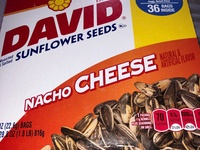 David Sunflower Seeds- Nacho Cheese 36 packs