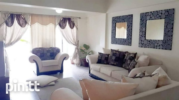 2bedrooms Semi-furnished Apt. in Maraval-2