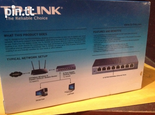 Tp-Link 8 port Gigabit Switch-2