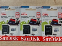 SanDisk 64GB Sd Memory Cards