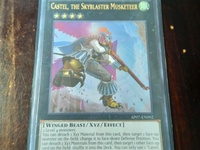 Yugioh Card - Castel the Skyblaster Musketeer Ultimate Rare