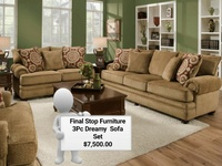 3pc Dreamy Sofa Set