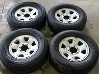 Pick up rims and tyres