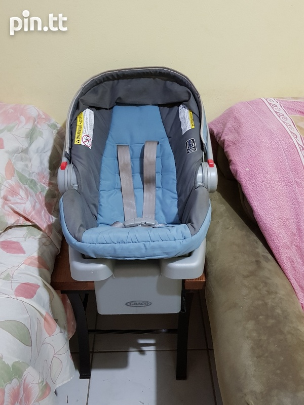 Used Graco Car Seat and Stroller-2