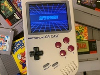 GameBoy Retro Gaming Handheld