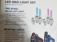 LED bike light set