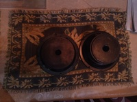 Six inch speakers in box