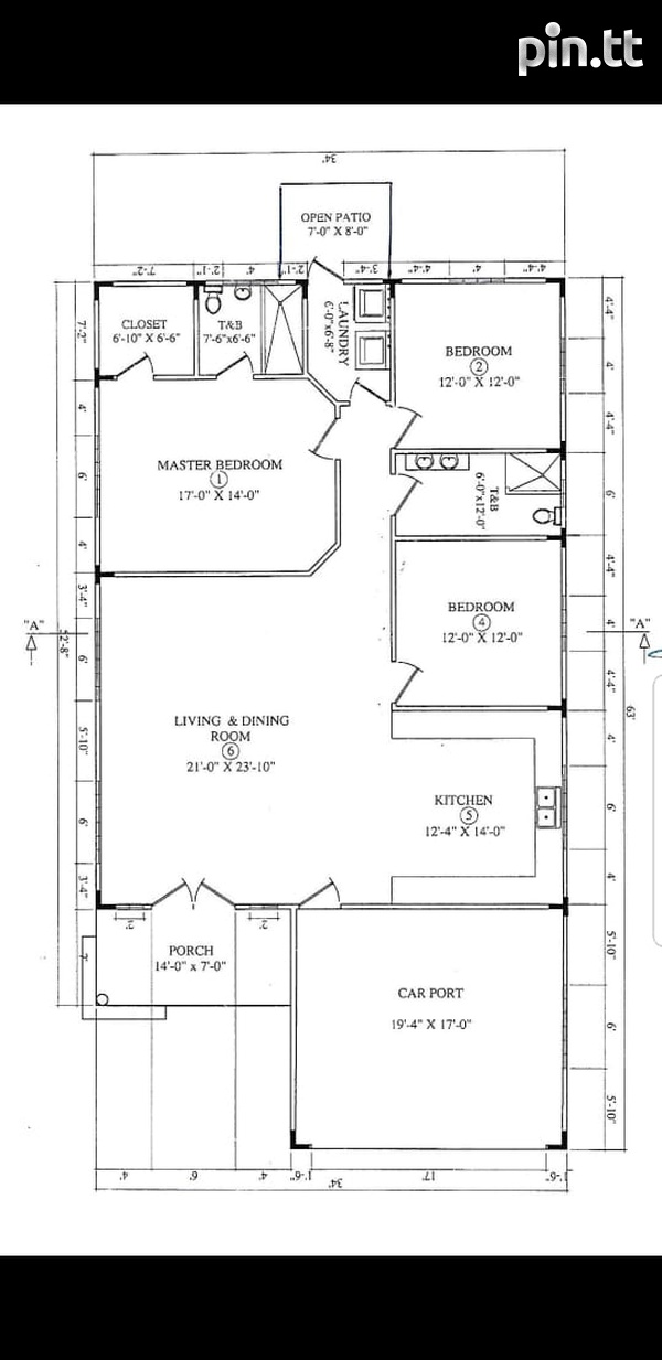 Newly Constructed, 3 Bedroom Home-7