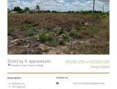 Approved 20,043sqft residential land, ideal for investment.