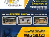 WE BUILD LOW COST HOMES