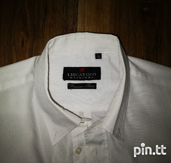 4 Men's Shirts XL, Imported, Original Lucatoni, White-2