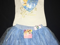Disney Princess skirt outfit