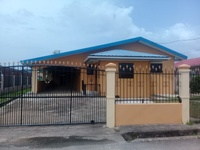 House with 3 bedrooms in Joyce Road Chaguanas