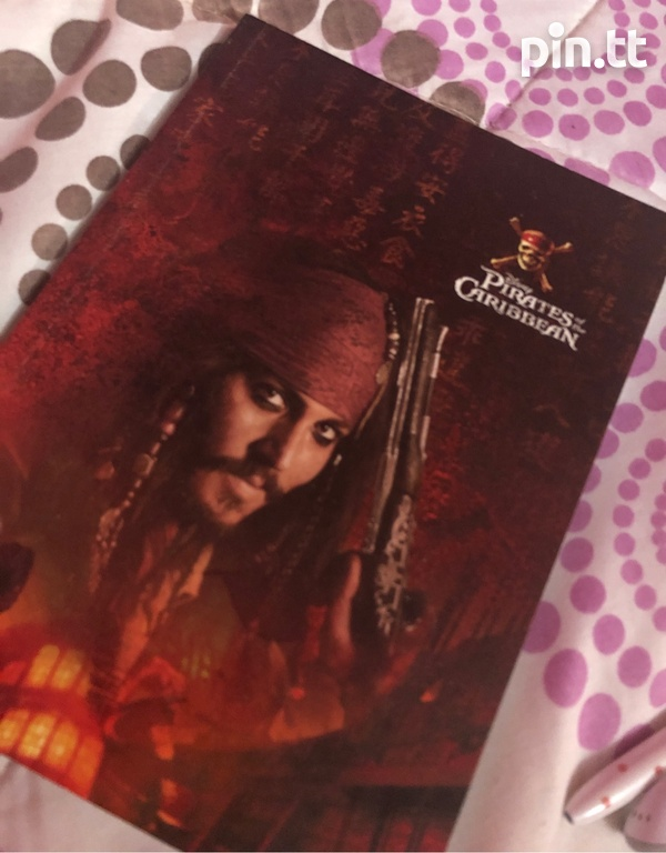 Pirates of the Caribbean notebook-1