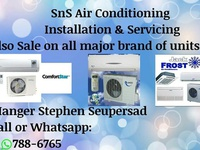 Air conditioning an refrigeration