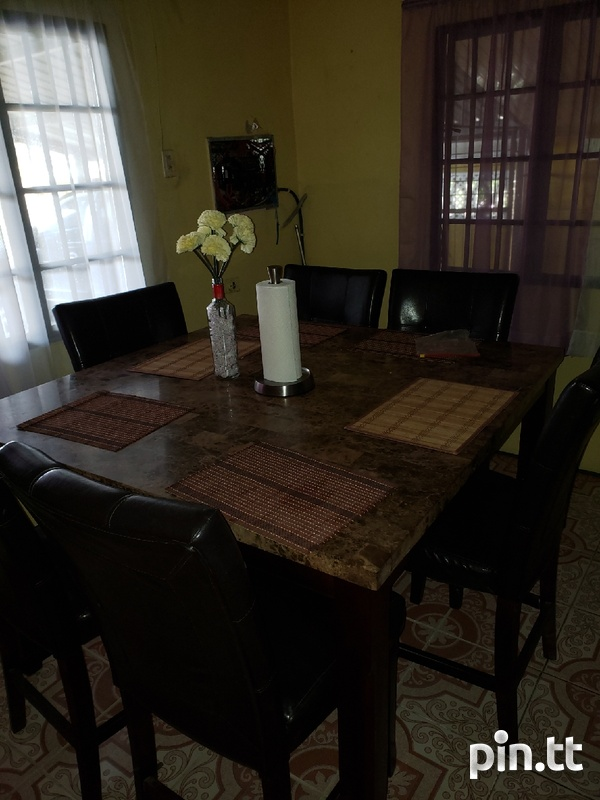 Dining Table with 6 chairs-4