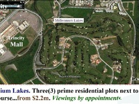 Millennium Lakes. 4 Prime Residential lands in Gated-community.