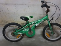 Used bike and battery atv