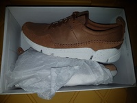 NEW Genuine leather men's Clarks shoes/trainers