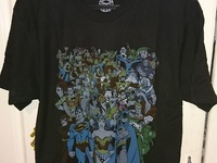 DC Comics Original DC Universe/Justice League T-SHIRT