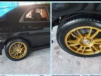 Rims and tyre