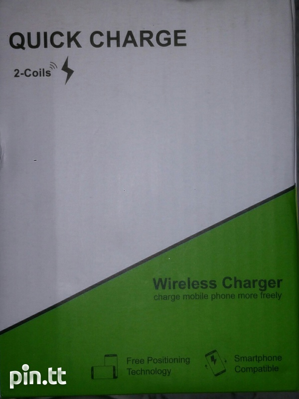 Wireless Fast Charging Stand, Qi Standard, Brand New in Box-6