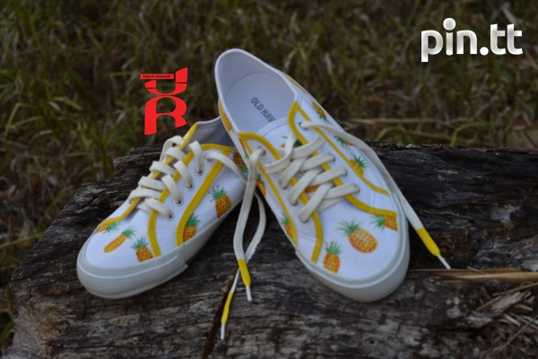 Pineapple Shoes Hand Crafted-5