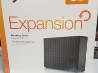 Seagate 3TB expansion desktop hard drive new