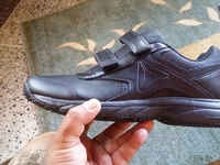 New pair black reebok sneakers