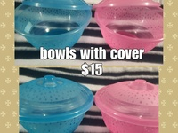 Bowl w/cover