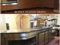 4PC BUFFET STATION WITH WARMER