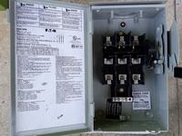 EATON SAFETY SWITCH FUSED