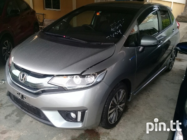 Honda Fit, 2015, RoRo-1