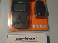 Auto bundle 1 odbii diagnostics and 1 battery and alt tester. new