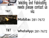Plumbing and welding services