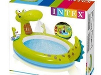 Intex Inflatable Pool, Sprays Water From The Mouth.