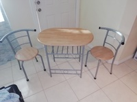 Breakfast table and chairs set